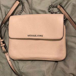 Michael Kors pink crossbody bag